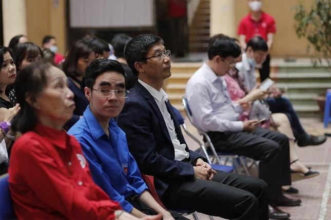 """Trường Đại học Nội vụ tích cực hưởng ứng ngày hội hiến máu toàn dân """"Bằng lăng tím 2021"""" ảnh 5"""