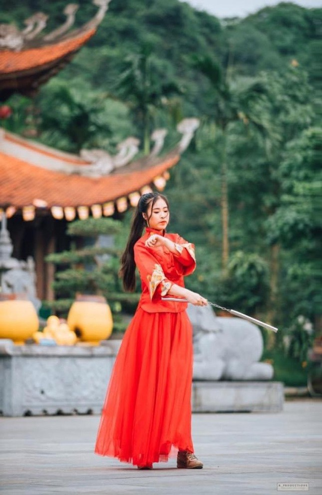 """Nữ du học sinh gốc Thái Nguyên """"văn võ song toàn"""" từng đạt HCV Quốc tế ảnh 12"""