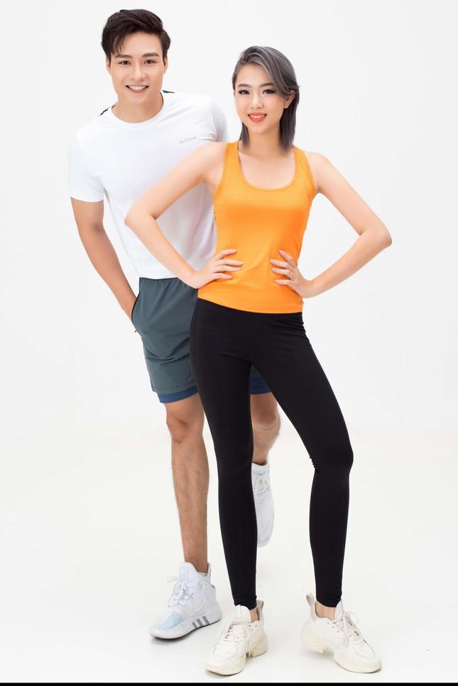 Dàn sao Vietnam Fitness Model đẹp 'hút hồn' với bộ ảnh cổ động mùa giải 2021 ảnh 2