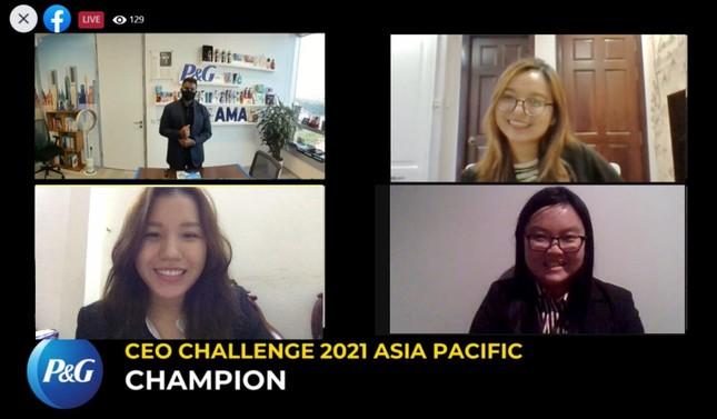 Sinh viên RMIT đại diện châu Á-TBD cuộc thi giải quyết tình huống kinh doanh toàn cầu ảnh 1
