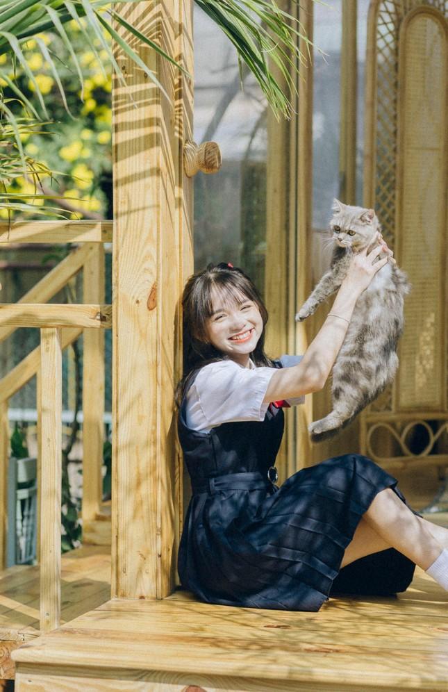 Nữ sinh Phú Thọ với nụ cười trong sáng, hồn nhiên khiến bao chàng trai thổn thức ảnh 3