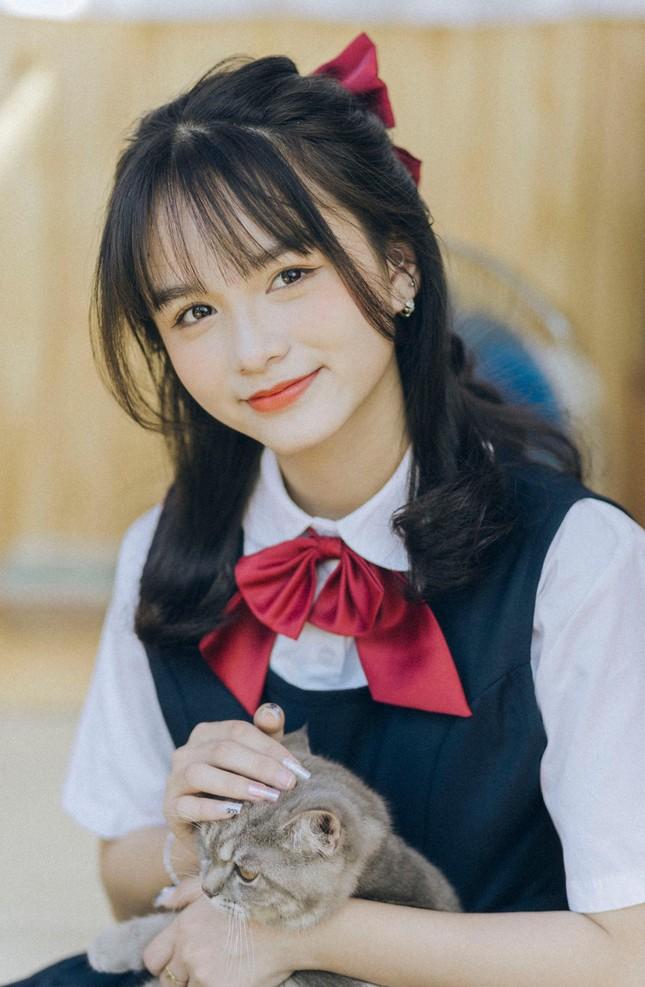 Nữ sinh Phú Thọ với nụ cười trong sáng, hồn nhiên khiến bao chàng trai thổn thức ảnh 5