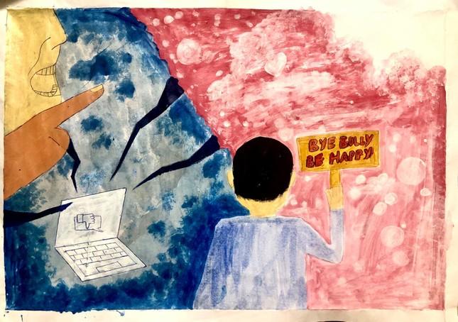 Đẩy lùi bạo lực mạng qua những nét vẽ đầy sáng tạo ảnh 7
