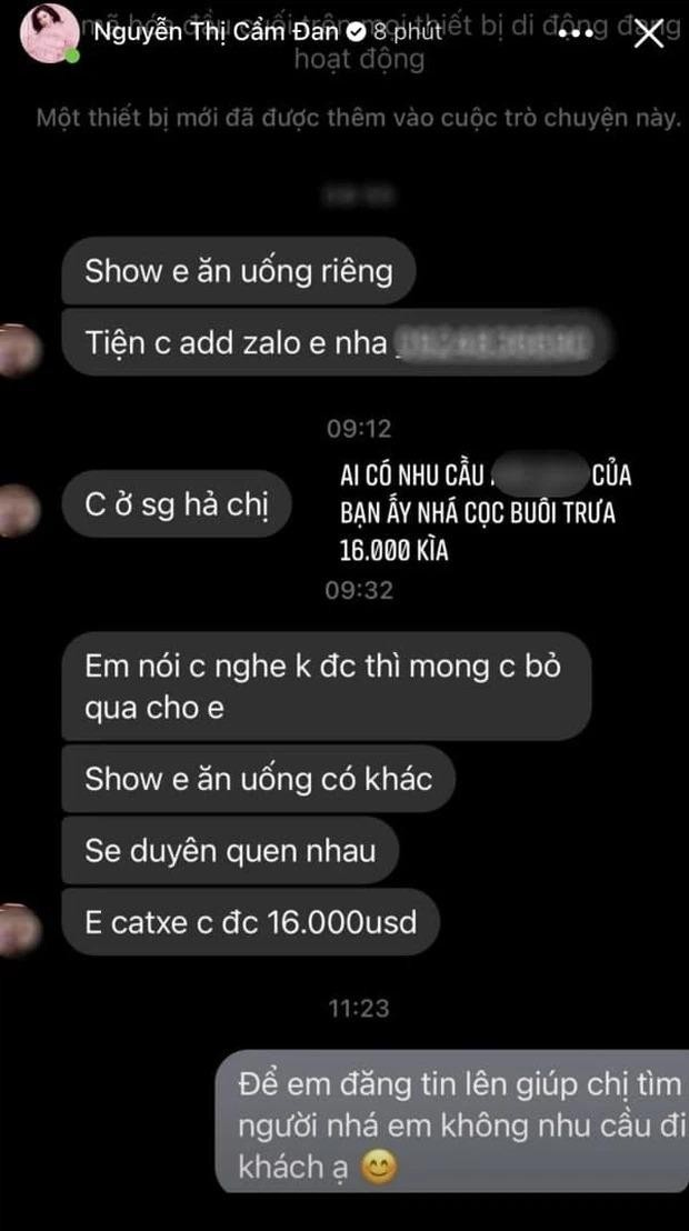 Cẩm Đan, thí sinh Hoa hậu phản ứng ra sao trước lời mời đi ăn có giá 400 triệu đồng? ảnh 5