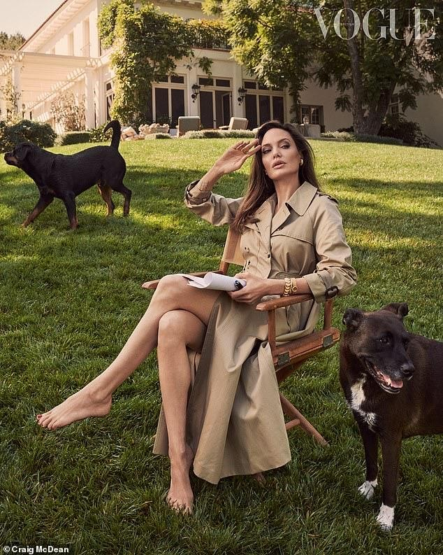 Lý do nào khiến Angelina Jolie chấp nhận hóa thân thành một lính cứu hỏa trong phim mới? ảnh 11