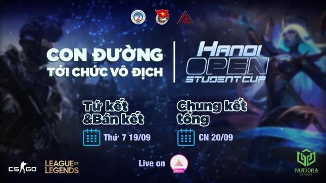 """""""Hanoi Open Student Cup 2020"""": Con đường tới chức vô địch ảnh 4"""
