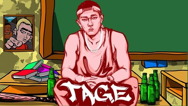 Rapper Tage sẽ đối đầu với cao thủ melody Tlinh tại vòng đối đầu Rap Việt? ảnh 1