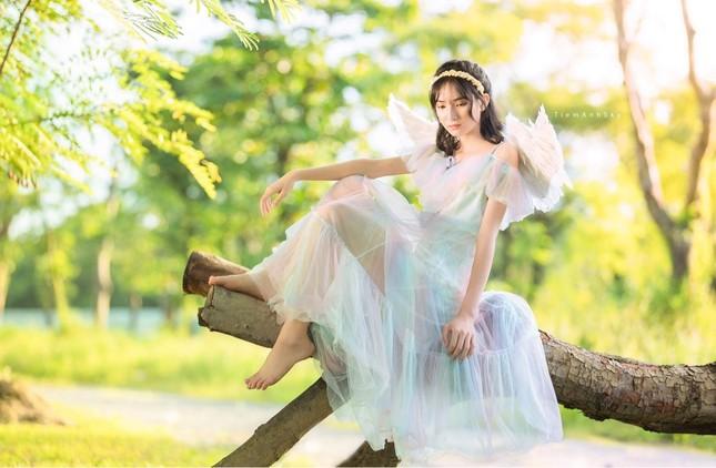 Vẻ đẹp trong veo tựa 'nàng thơ' của nữ sinh trường Cao đẳng Sư phạm Trung ương ảnh 11