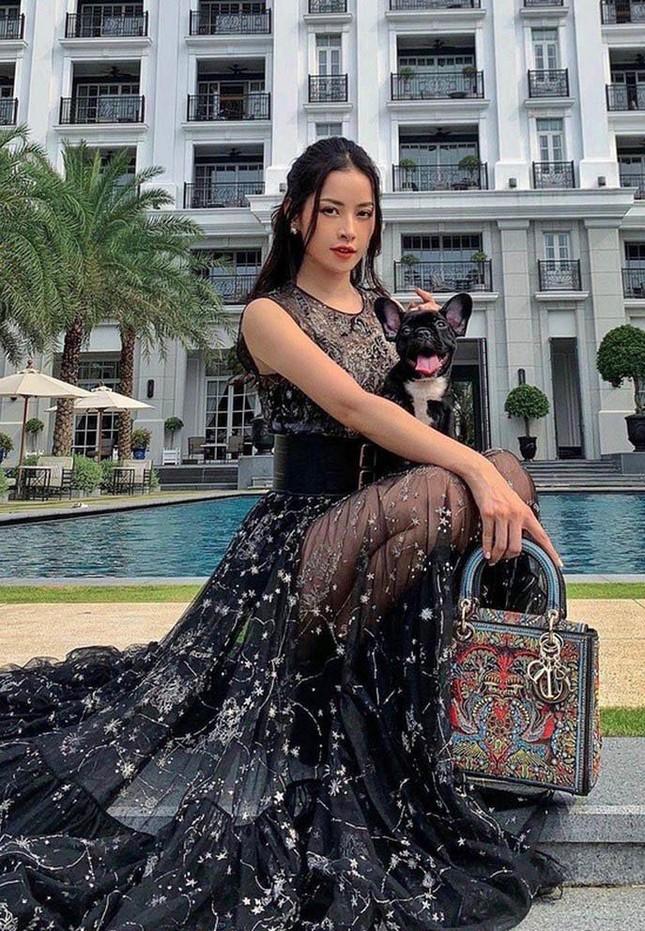 Chi Pu xuất hiện với phong cách sang chảnh; Thu Trang - Tiến Luật mặn nồng dù con đã lớn ảnh 1
