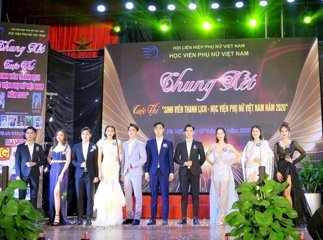 Chung kết cuộc thi Sinh viên thanh lịch Học viện Phụ nữ Việt Nam 2020 ảnh 1