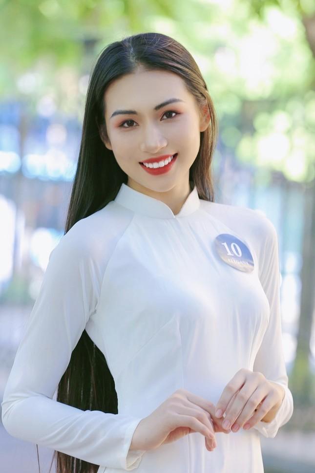 Hoa khôi Học viện Phụ nữ Việt Nam tinh khôi trong bộ ảnh áo dài ảnh 7