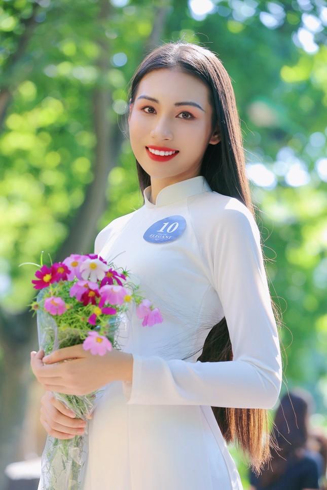 Hoa khôi Học viện Phụ nữ Việt Nam tinh khôi trong bộ ảnh áo dài ảnh 6