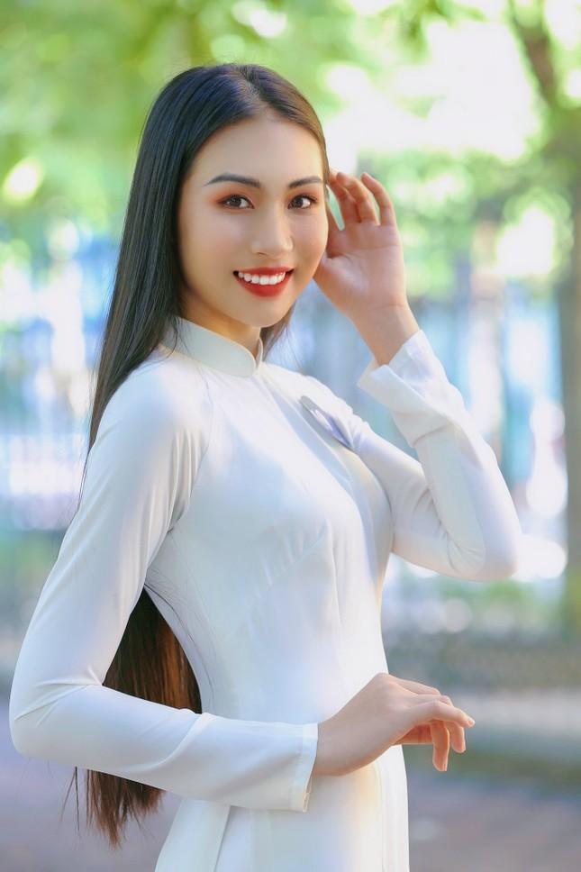 Hoa khôi Học viện Phụ nữ Việt Nam tinh khôi trong bộ ảnh áo dài ảnh 12