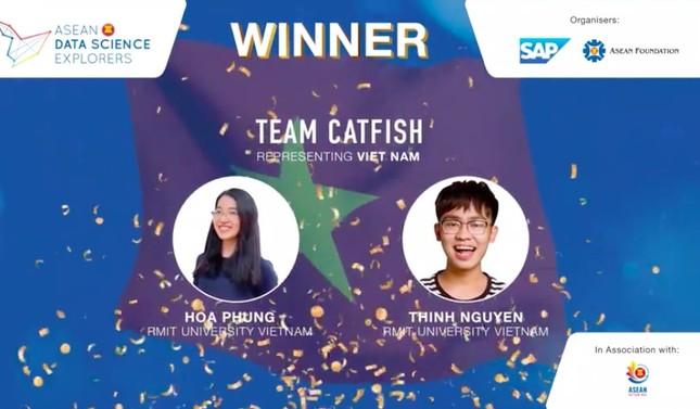Chiến thắng liên tiếp của RMIT tại cuộc thi Khám phá Khoa học dữ liệu ASEAN 2020 ảnh 1