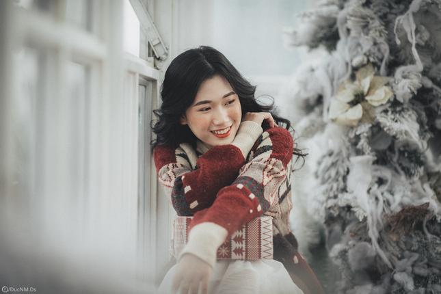 Xóa tan lạnh giá mùa Giáng sinh với ánh mắt đầy ấm áp của cô nàng Hà Tĩnh ảnh 3