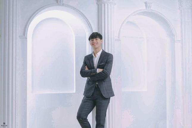 Hot boy Nghệ An điển trai trong bộ ảnh phong cách Hàn Quốc ảnh 3