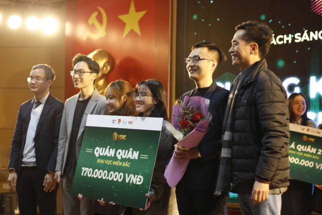 """Lộ diện Top 3 Chung kết miền Bắc cuộc thi """"Thử thách sáng tạo xã hội Việt Nam"""" ảnh 4"""