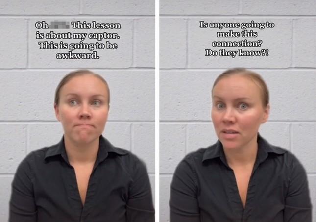 Thoát khỏi vụ bắt cóc năm 15 tuổi, cô gái Mỹ trở thành người truyền cảm hứng trên Tiktok ảnh 2
