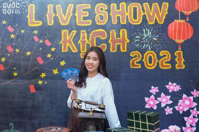 """Sinh viên trường Báo háo hức chào Xuân cùng Photobooth """"Lời chưa nói"""" ảnh 2"""