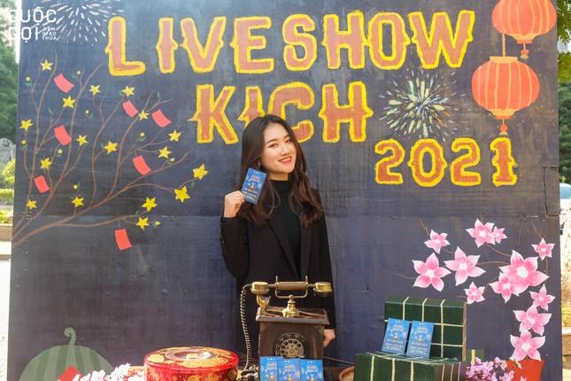 """Sinh viên trường Báo háo hức chào Xuân cùng Photobooth """"Lời chưa nói"""" ảnh 6"""