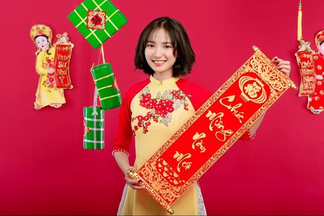 Hot girl Nam Định 'hóa' thiếu nữ H'Mông rạng rỡ đón Xuân ảnh 8