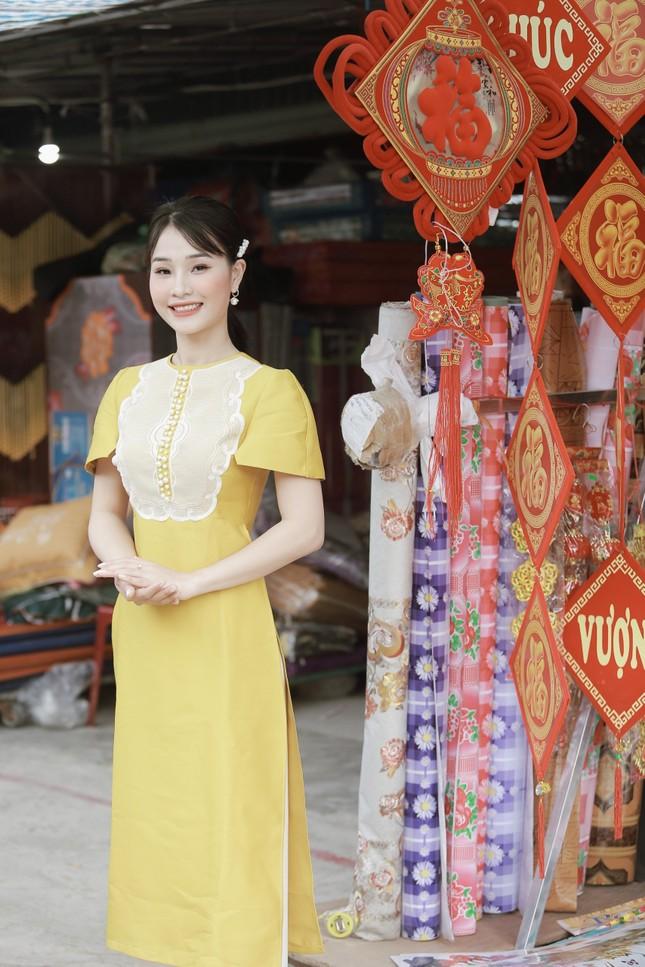 Á khôi du lịch Hà Tĩnh rạng ngời trong phiên chợ Xuân   ảnh 3