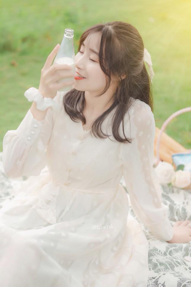 Nữ sinh 2K3 Hưng Yên đa tài xinh không tì vết thần tượng Châu Bùi ảnh 4