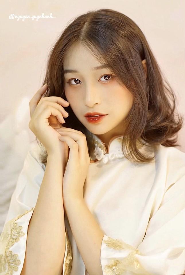 Nữ sinh 2K3 Hưng Yên đa tài xinh không tì vết thần tượng Châu Bùi ảnh 1