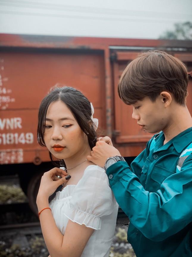 Bộ ảnh 'Tiễn người yêu lên đường nhập ngũ' của đôi bạn đến từ Quảng Ninh ảnh 14