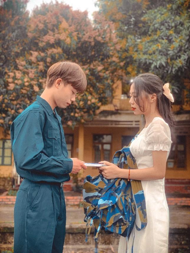 Bộ ảnh 'Tiễn người yêu lên đường nhập ngũ' của đôi bạn đến từ Quảng Ninh ảnh 5