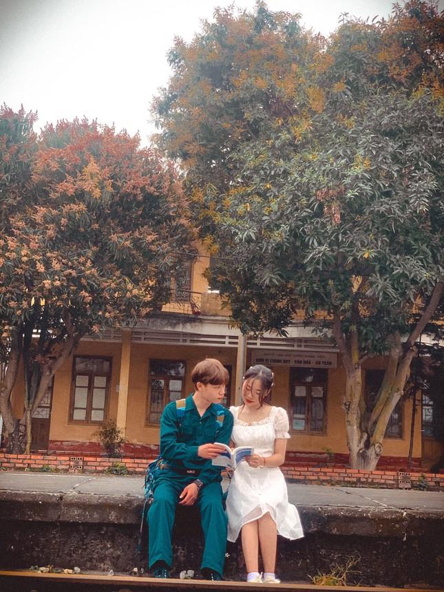 Bộ ảnh 'Tiễn người yêu lên đường nhập ngũ' của đôi bạn đến từ Quảng Ninh ảnh 15