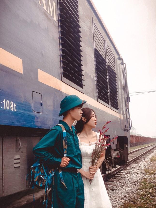 Bộ ảnh 'Tiễn người yêu lên đường nhập ngũ' của đôi bạn đến từ Quảng Ninh ảnh 16