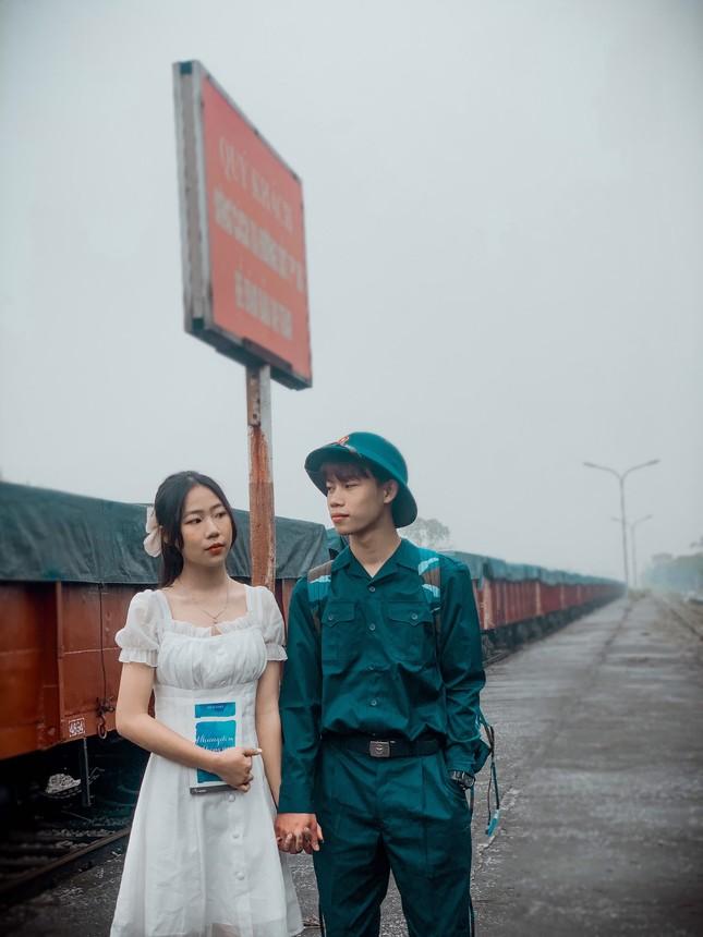 Bộ ảnh 'Tiễn người yêu lên đường nhập ngũ' của đôi bạn đến từ Quảng Ninh ảnh 17