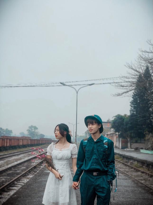 Bộ ảnh 'Tiễn người yêu lên đường nhập ngũ' của đôi bạn đến từ Quảng Ninh ảnh 19