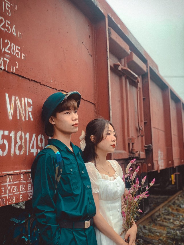 Bộ ảnh 'Tiễn người yêu lên đường nhập ngũ' của đôi bạn đến từ Quảng Ninh ảnh 7