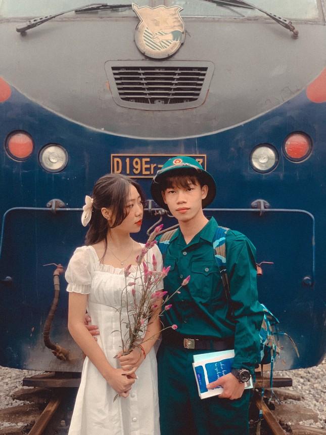 Bộ ảnh 'Tiễn người yêu lên đường nhập ngũ' của đôi bạn đến từ Quảng Ninh ảnh 11