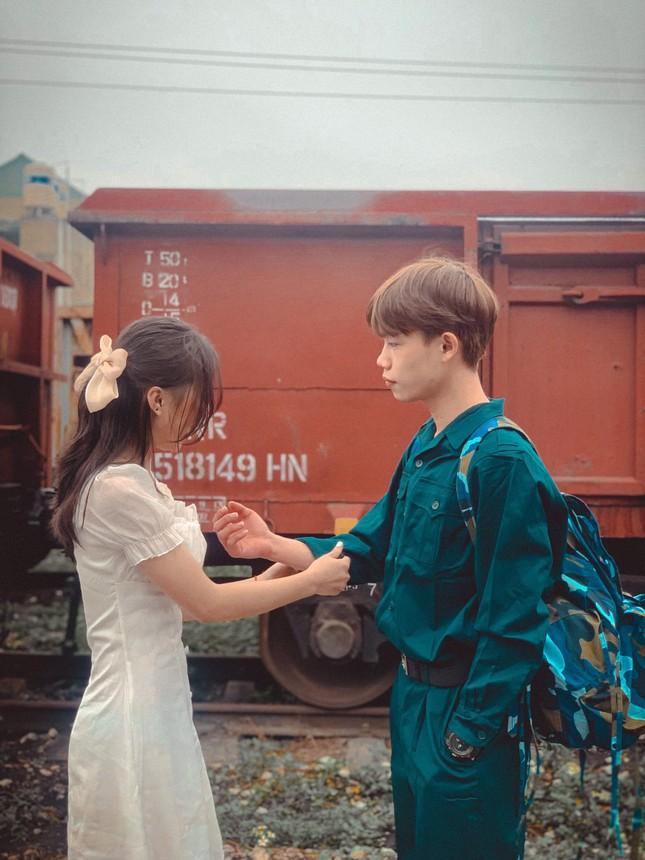 Bộ ảnh 'Tiễn người yêu lên đường nhập ngũ' của đôi bạn đến từ Quảng Ninh ảnh 12