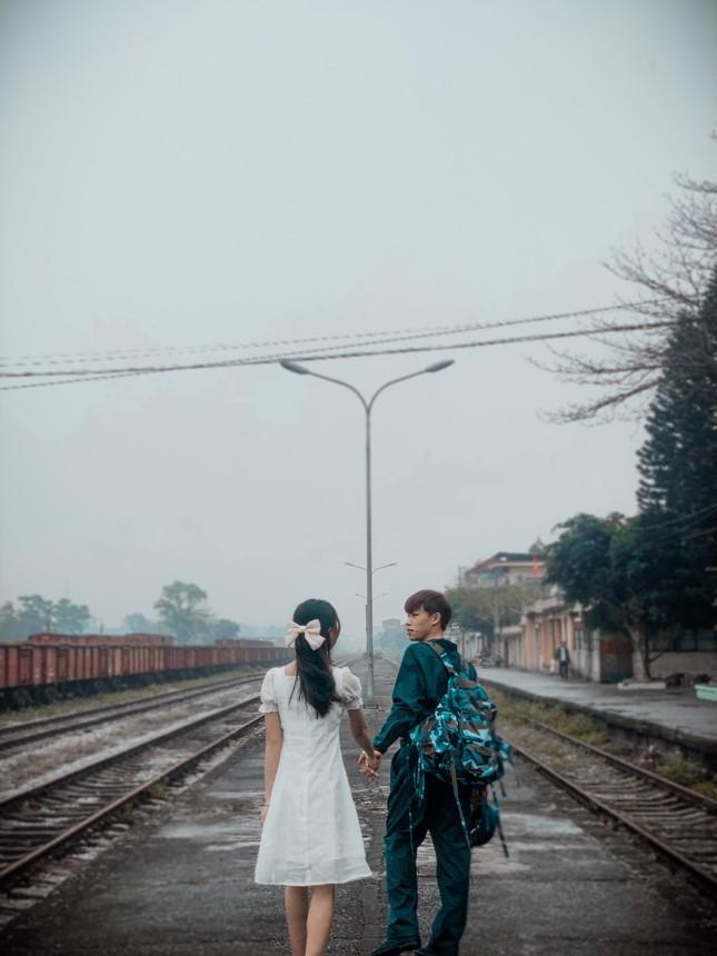 Bộ ảnh 'Tiễn người yêu lên đường nhập ngũ' của đôi bạn đến từ Quảng Ninh ảnh 13
