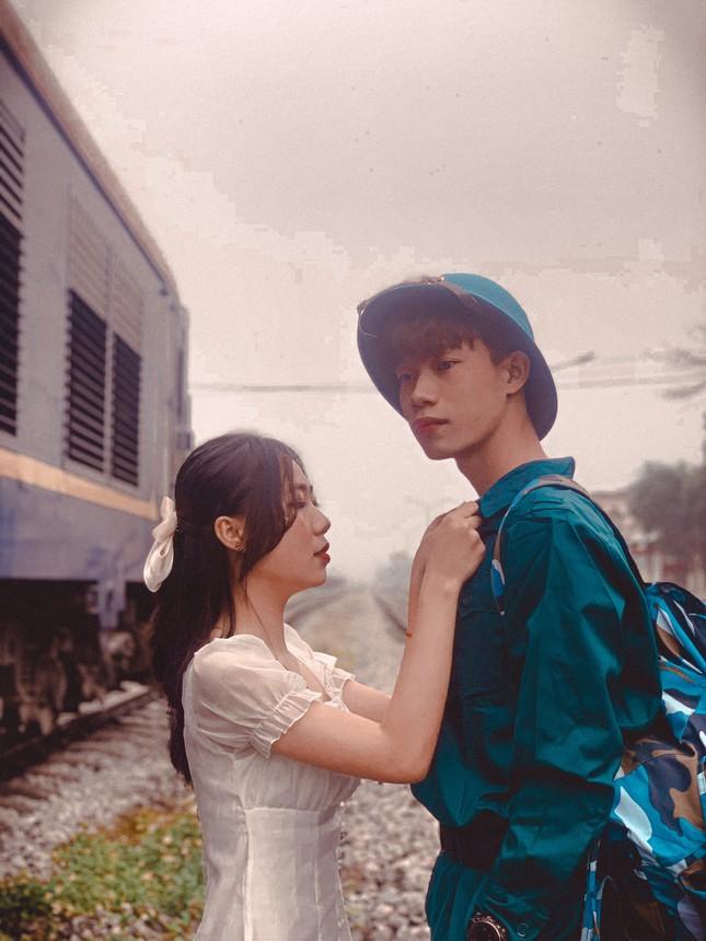 Bộ ảnh 'Tiễn người yêu lên đường nhập ngũ' của đôi bạn đến từ Quảng Ninh ảnh 1
