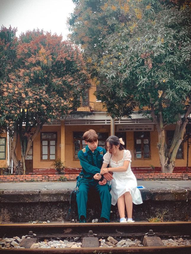 Bộ ảnh 'Tiễn người yêu lên đường nhập ngũ' của đôi bạn đến từ Quảng Ninh ảnh 2