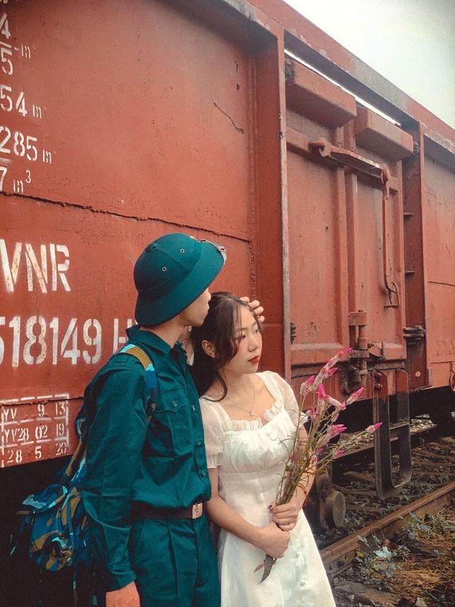 Bộ ảnh 'Tiễn người yêu lên đường nhập ngũ' của đôi bạn đến từ Quảng Ninh ảnh 3