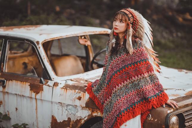 Hồn nhiên và phóng khoáng, cô gái 19 tuổi gây ấn tượng với bộ ảnh Bohemian ảnh 11