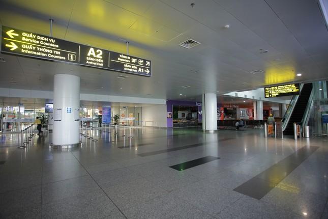 Máy bay đỗ đầy cảng, nhà ga Nội Bài 'vắng như chùa bà đanh' ảnh 19