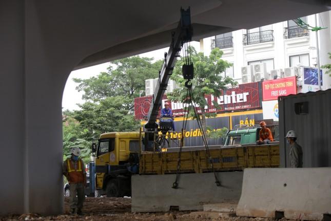 Cận cảnh đường vành đai 3 trên cao nối cầu Thăng Long - Mai Dịch sắp thông xe ảnh 8