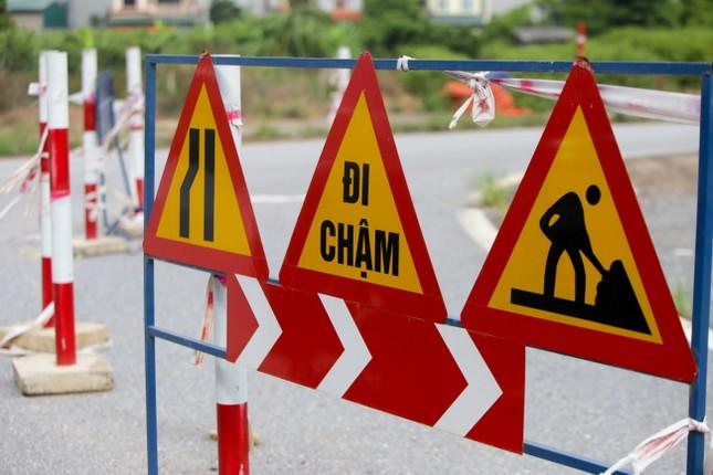 Toàn cảnh đại công trường 402 tỷ đồng nối vành đai 3 với cao tốc Hà Nội - Hải Phòng ảnh 4