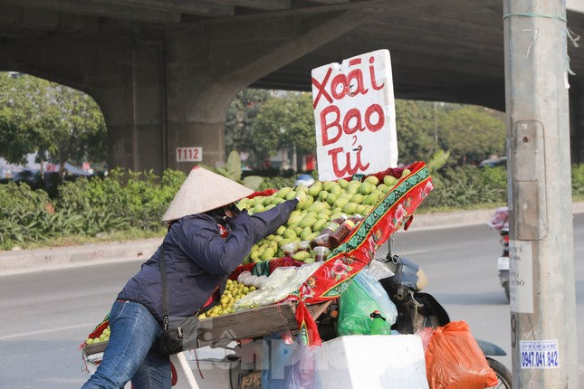 Hoa quả giá rẻ không rõ nguồn gốc bày bán ngập phố Hà Nội ảnh 7