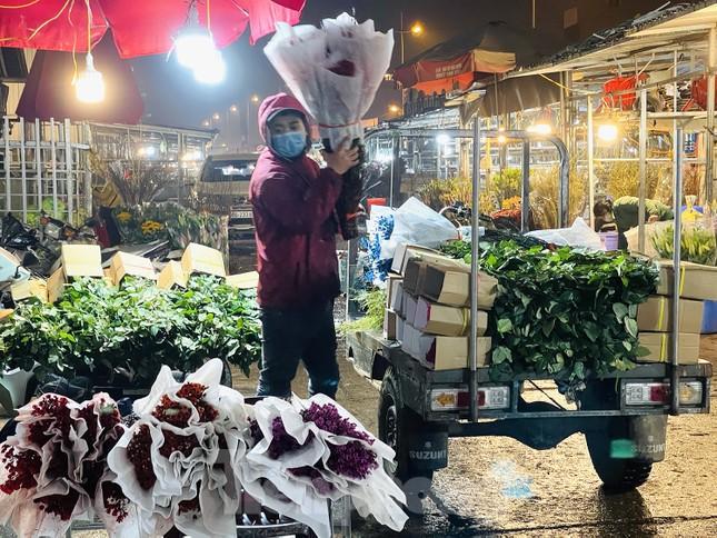 Người lao động, tiểu thương chợ hoa 'ngồi trên lửa' khi dịch COVID-19 bùng phát ảnh 7