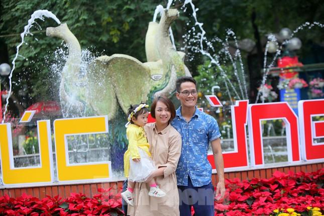 Công viên lâu đời nhất Hà Nội hút khách ngày mùng 3 Tết ảnh 8