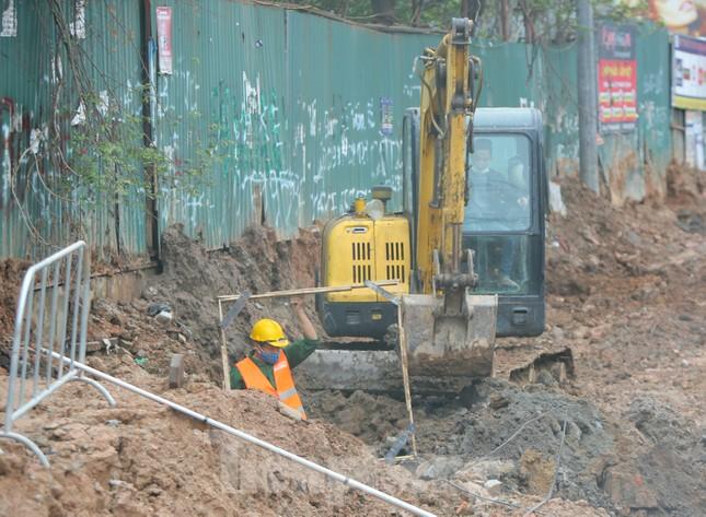 Tăng tốc thi công hầm chui đường bộ nút giao Lê Văn Lương - Khuất Duy Tiến ảnh 4