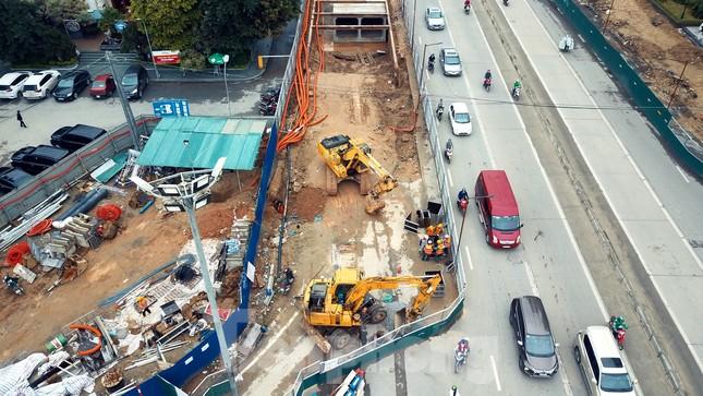 Tăng tốc thi công hầm chui đường bộ nút giao Lê Văn Lương - Khuất Duy Tiến ảnh 10